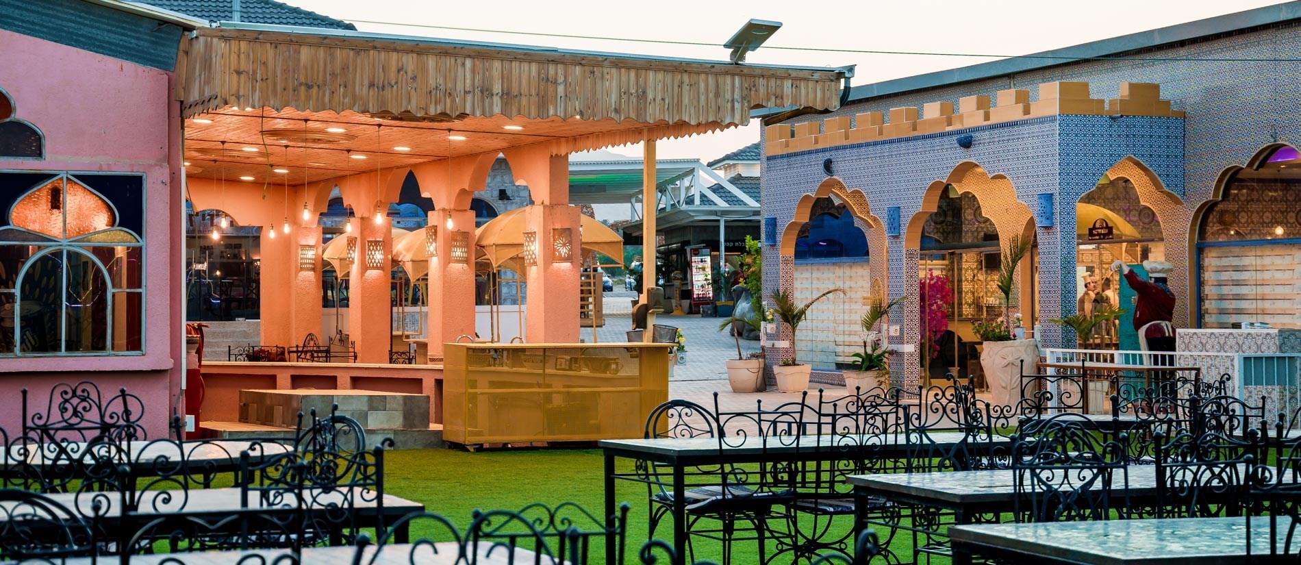 מסעדת כפר הנופש ביאנקיני