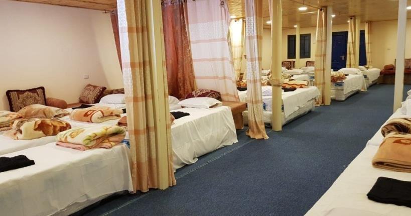 מיטות החאן במלון ביאנקיני